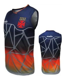 Camisa Regata Vasco Treino Basquete Oficial Diadora 2018