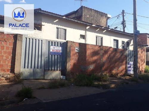 Imagem 1 de 11 de Casa Com 2 Dormitórios Para Alugar, 48 M² Por R$ 700,00/mês - Jardim Residencial Javary I - Piracicaba/sp - Ca0808