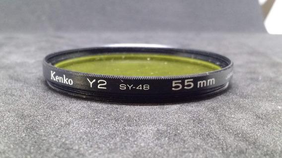Filtro Kenko Y2 Sy48 55 Mm