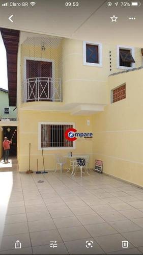 Imagem 1 de 17 de Sobrado À Venda, 110 M² Por R$ 750.000,00 - Vila Fátima - Suzano/sp - So2136