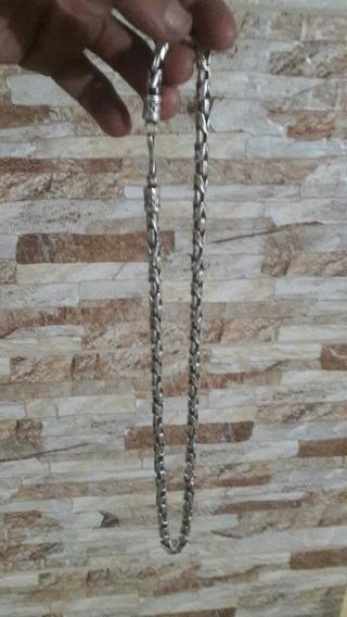 Cordão De Prata Bali Peruano