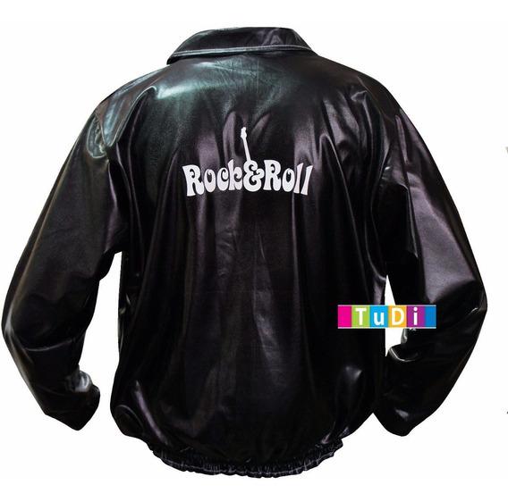 Disfraz Adulto Chamarra Vaselina Rock Roll Halloween Toytudi