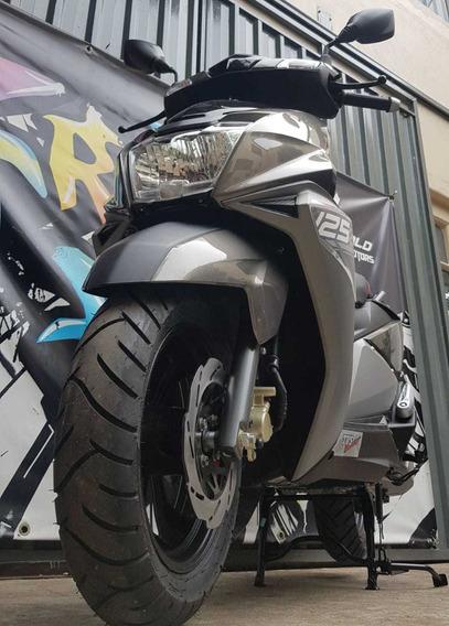 Scooter Tvs Ntorq 125 0km 2020 Al 19/6 Cycle World Motors