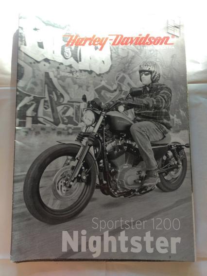 Coleção Harley-davidson Motor Extra Sportster 1200 Nightster