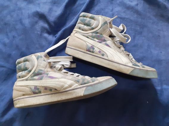 Tênis Sneaker Puma Raridade Unissex N37 - Cano Alto