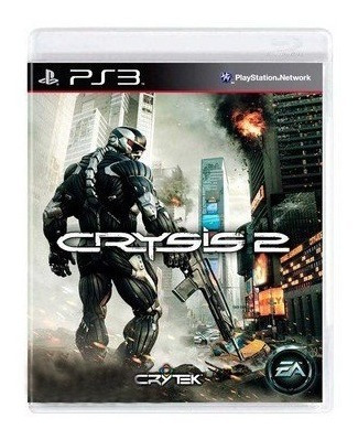 Playstation 3 Ps3 Jogo Crysis 2 Semi Novo