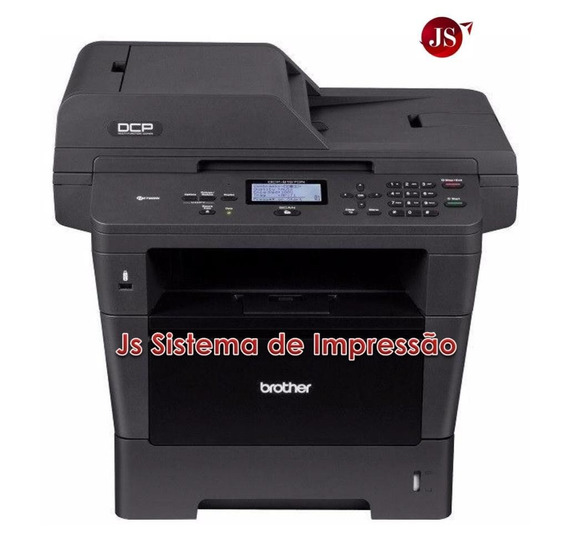 Multifuncional Laser Brother Dcp-8152dn Seminova Completa