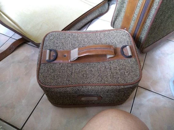Conjunto De Malas Primícia Vintage - Excelente Estado !!!!!