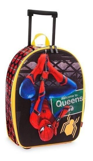 Mochila De Rodinha Homem Aranha De Volta Ao Lar Disney