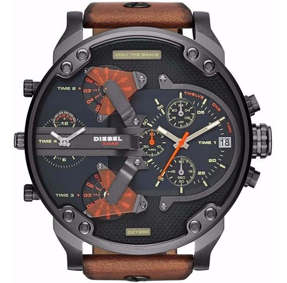 Relógios Pa6 Masc. D730 Diesel Dz7332 Mr. Daddy 2.0 Promoção
