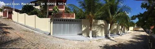 Casa Para Venda Em Parnamirim, Pirangi Do Norte - Casa Via Pública Próximo Ao Maior Cajueiro Do Mundo, 6 Dormitórios, 5 Suítes, 7 Banheiros, 4 Vagas - Cas0405_2-419421