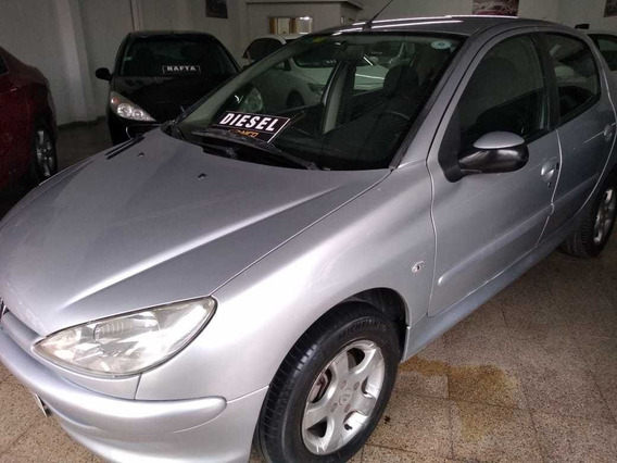 Peugeot 206 1.9 Diesel Aa Da Con Solo 162000km Nicojunin