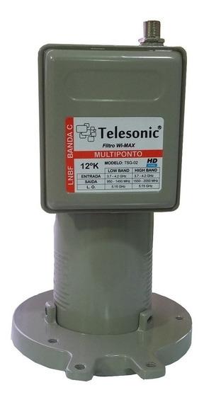 Multiponto Banda Estendida-filtro Wi-max-telesonic