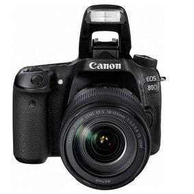 Canon 80d + Lente 18-135 Stm