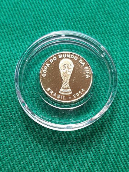 Moeda De Ouro Copa Do Mundo 2014