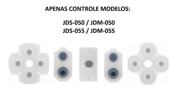 Borracha Condutiva Controle Ps4 Jds Jdm 050 055