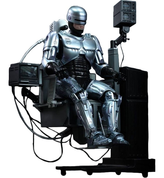 Hot Toys Robocop Diecast Mechanical Chair Alex Murphy 1/6