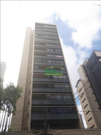 Apartamento À Venda, 275 M² Por R$ 1.200.000,00 - Tamarineira - Recife/pe - Ap1117