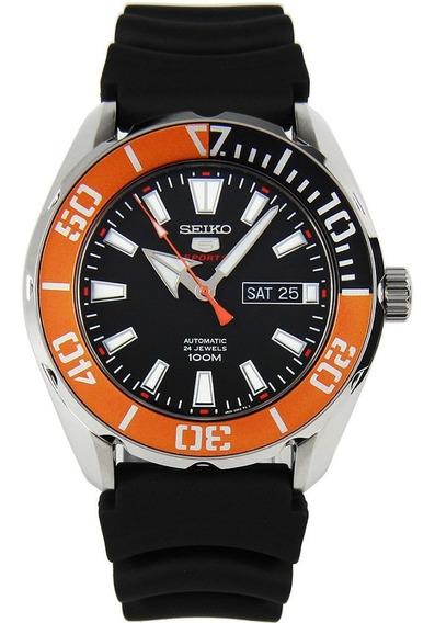 Seiko 5 Sports Diver Automático Srpc59k1 100m Novo Na Caixa