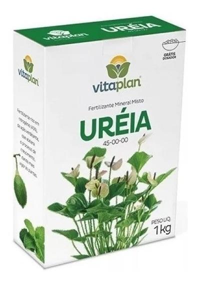 Ureia Fertilizante Mineral Simples Npk 45-00-00 1kg Vitaplan