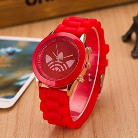Relógio Pulso Feminino adidas Pulseira Silicone
