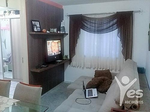 Imagem 1 de 6 de Ref.: 2220 - Apartamento Com Planejados 02 Dormitórios 01 Vaga De Garagem - Vila Lutécia, Santo André - 2220