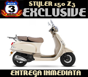 Moto Scooter Zanella Styler 150 Z3 Exclusive 0km 2017