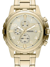 Relogio Fossil Dourado Fs4867
