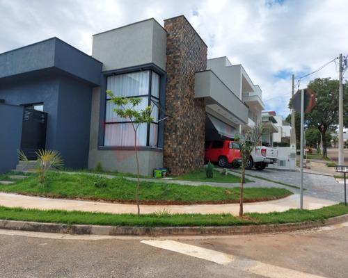 Linda Casa Térrea De Esquina No Condomínio Golden Park Residence Alfa, Muito Bem Localizado Na Região De Sorocaba/sp - 1996 - 69470815