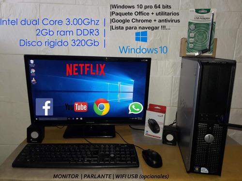 Imagen 1 de 9 de Cpu Computadoras Dual Core