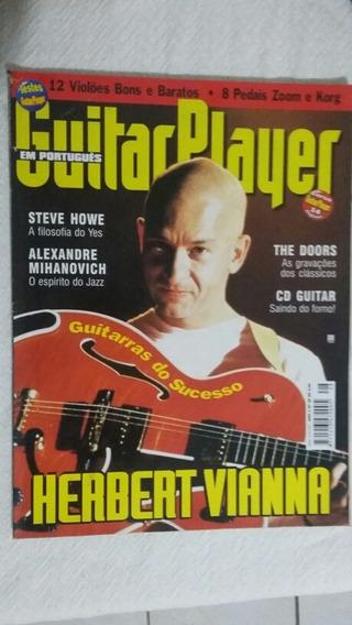 Revista Guitar Player Herbert Vianna