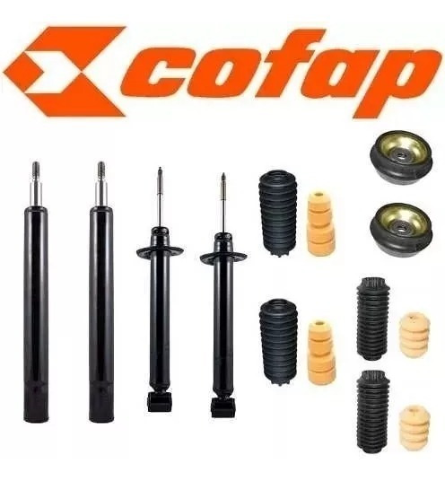 Kit Completo Amortecedor Gol G3 G4 Cofap Original + Kits