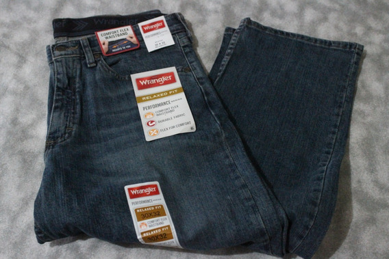 Pantalon Wrangler Related Fit Original Usa 30 X 32 Flex