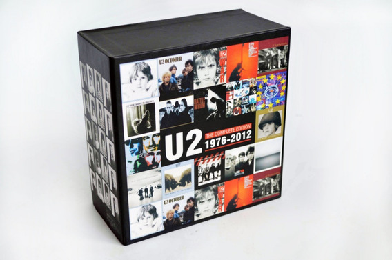 Box U2 The Complete Edition 1976 - 2012 17cds