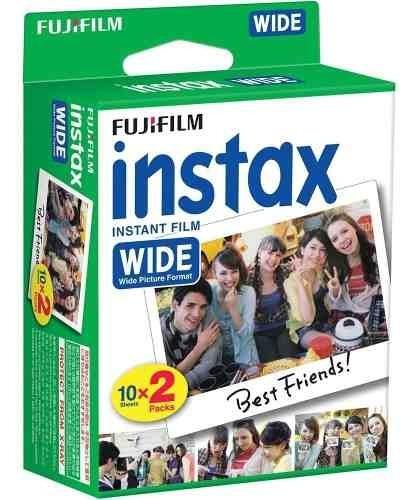 Filme Instax Wide Pack 20 Fotos P/ Wide 100 210 300 500af