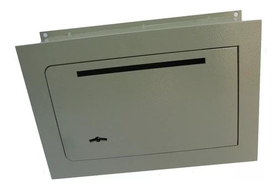 Caja Fuerte Seguridad Tesoro Empotrar Amurar Embutir N°3 Con Buzon 30x20x15cm Reforzada Pared Piso Oficina Hogar Valor