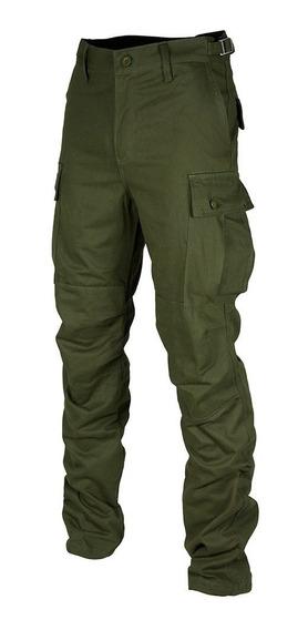Pantalon Hombre Cargo Gabardina Uso Intensivo Tipo Combate