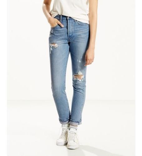 Levi's® Mujer Pantalón 501 Skinny Cant Touch This29502-0034