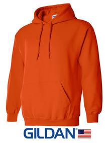 Sudaderas Gildan 3xl 4xl 5xl Naranja Para Estampar 18500 Usa