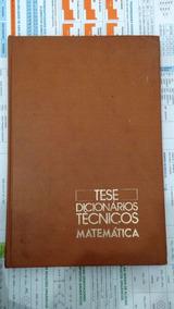 Dicionário De Matemática Tese - Volume 5