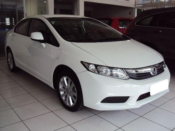 Honda New Civic Lxs 1.8 Branco 16v Flex