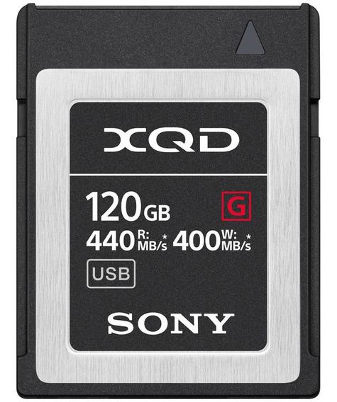 Memoria Xqd Sony 120gb G-series 440mb/s Original Lacrado