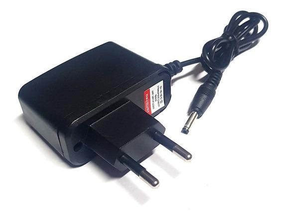 Carregador Para Lanterna T9 Original Bivolt 8,4v Plug Fino