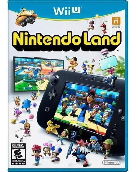 Jogo Nintendo Land Wii U - Mídia Física Game Lacrado Novo