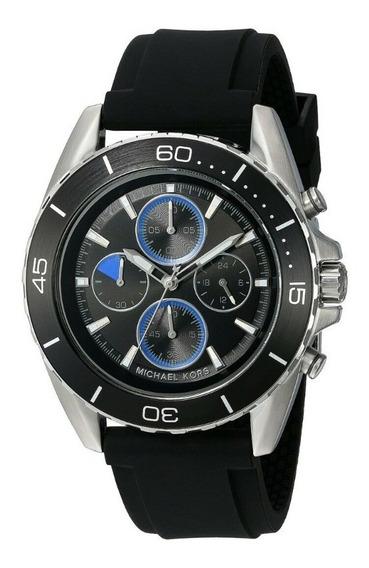 Relógio Michael Kors Jetmaster Preto - Mk8485