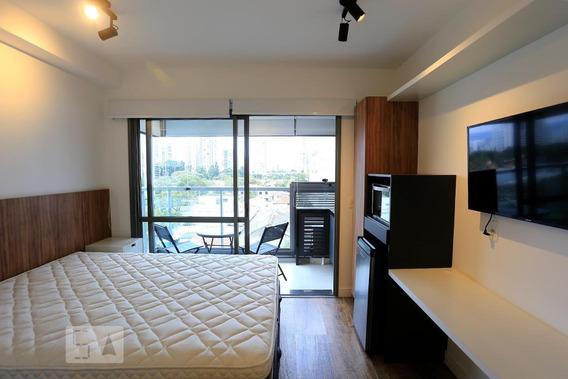 Apartamento Para Aluguel - Brooklin, 1 Quarto, 29 - 893103561