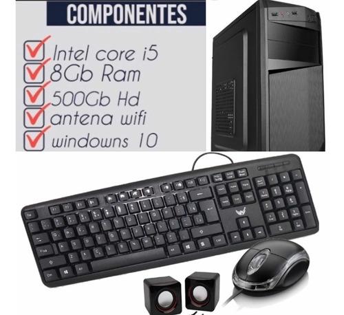 Computador Intel I5 Hd 500 8g Memoria