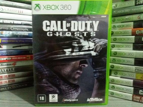 Jogo Call Of Duty Ghosts Xbox 360 Original Mídia Português