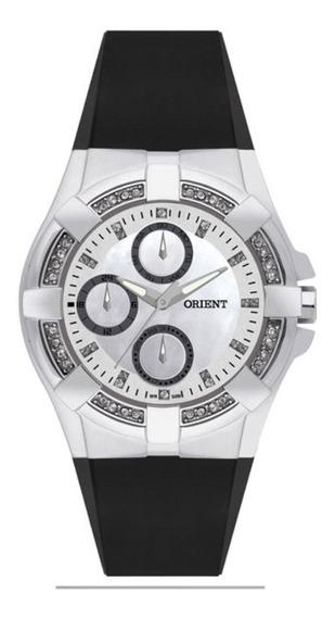 Relógio Feminino Orient Elegance Fbspm001b1px - Prata/preto