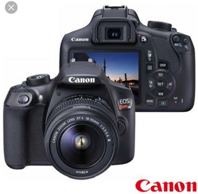 Câmera Canon T6 + Lente 18-55mm